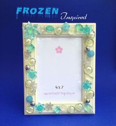 Frozen Picture Frame/Frozen Inspired by HerFaveRitThings on Etsy
