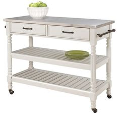 I pinned this Savannah Kitchen Cart from the Beneath My Heart event at Joss and Main!