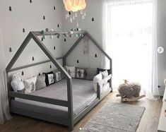 Gray TERY Cabin Bed - BellyStar - ideas for children& room 2019 . - Gray TERY Cabin Bed – BellyStar – ideas for children& room 2019 – dec - Toddler House Bed, Boy Toddler Bedroom, Baby Boy Rooms, Girls Bedroom, House Beds For Kids, Toddler Boy Beds, Kids Rooms, Toddler Boy Room Ideas, Bed For Kids