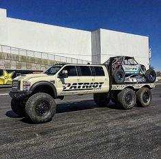 Beast on Wheels. 6x6 Truck, Jeep Truck, Jeep 4x4, Ford Diesel, Diesel Trucks, Lifted Trucks, Pickup Trucks, Lifted Ford, Chevy Trucks