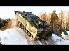 """Noticia Final: BTR """"kurganets-25"""" passando por teste de revisão"""