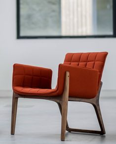 Retro style marries modern accents - Two.Six presents Mandarine Armchair at ICFF 2015