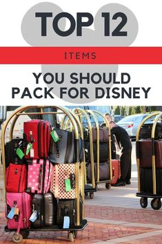 Make sure you have the most important items with you when you pack for your trip to Disney World. My list of the top items to bring to Disney World! Disney World Packing, Disney World Vacation Planning, Walt Disney World Vacations, Disney Planning, Vacation Ideas, Disney Travel, Vacation Club, Family Vacations, Disney Parks