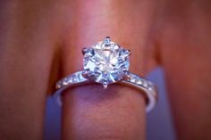 Solitaire engagement rings from Fascinating Diamonds are crafted in brilliant diamonds and gemstones. Browse from a wide range of solitaires rings. Find the perfect diamond for her today. My Perfect Wedding, Our Wedding, Dream Wedding, Wedding Stuff, Wedding Season, Wedding Photos, Wedding Engagement, Wedding Bands, Engagement Rings