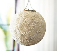 Cassie Shell Pendant #potterybarn