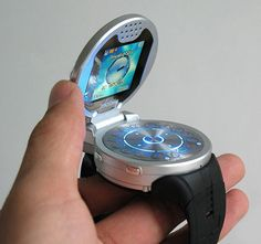 G108 Watch Phone, Been wondering when someone would make one. Though I think the earpiece should detach and zip out to fit in your ear. ...hip hop instrumentals updated daily => http://www.beatzbylekz.ca