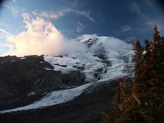 As the National Park Service turns a look at the wonders it works to preserve. Evergreen State, Mount Rainier National Park, Us National Parks, Park Service, Winter Activities, Adventure Travel, Scenery, Preserve, Dusk