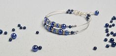 Pandahall Easy Project - Ako urobiť jednoduchý modrý perlový náramok v dvoch krokoch