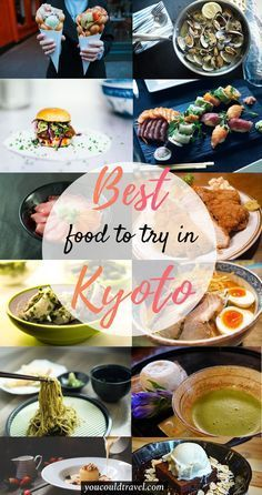 The Best Kyoto Food You Need to Try - Here is all the food you need to try during your trip to Kyoto. Have a culinary adventure and indulge in as many Japanese dishes as possible. Check out the full list plus restaurant recommendations. Hiroshima, Nagasaki, Japan Travel Guide, Tokyo Travel, Asia Travel, Travel Guides, Japanese Dishes, Japanese Food, Japanese Recipes