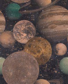 The Universe premium wallpaper  Size: Pack of three  Dowsing & Reynolds