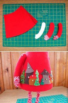 Кукольный мир: выкройки, одежда, миниатюра Felt Patterns, Christmas Stockings, Sunglasses Case, Holiday Decor, Crafts, Inspiration, Felting, Breakfast Nook, Xmas