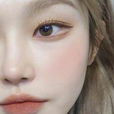 Korean Makeup Look, Asian Eye Makeup, Edgy Makeup, Simple Makeup, Korean Natural Makeup, Cute Makeup Looks, Pretty Makeup, Makeup Tips, Beauty Makeup