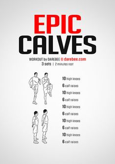 Beine Training Workout Übungen Epic Calves Workout Caring for your Wood Furniture There is nothing l Gym Workout Tips, Six Pack Abs Workout, At Home Workout Plan, Workout Challenge, At Home Workouts, Calf Workouts, Calf Exercises At Home, Calf Muscle Workout, Calisthenics Workout Plan