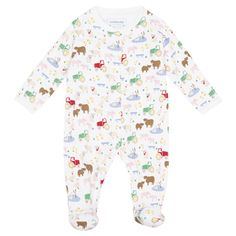 Farm Animal Baby Sleepsuit, Baby Sleepsuits and Bodies, Baby Clothes