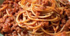 Spaghetti Bolognese Sauce - SUPER EINFACH