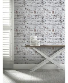33 Modern Interior Design Ideas Emphasizing White Brick Walls  Tags: white brick wall decor, white brick wall design, white brick wall diy, white brick wall dining, white brick wall effect, white brick wall fireplace