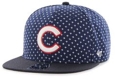 Chicago Cubs Crossbreed Adjustable Snapback  #ChicagoCubs #Cubs #FlyTheW SportsWorldChicago.com
