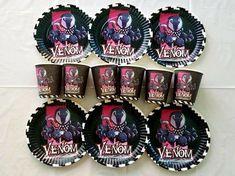 "10ct Venom 3x6x7/"" Gift Box Set Birthday Party Celebration Supplies Decorations"