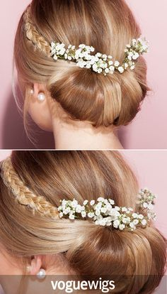 You'll be wedding ready with the Hairdo French Braid Band.