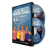 $29.95 for 2 disc set I absolutely love this workout series!! It has really toned me up!   24 exercises for 24 minutes that helps real people get real results!! www.advocare.com/12117851