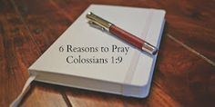 6 Reasons to Pray Colossians - It's a fantastic Scripture to pray for yourself and others and this devotion explains why. Prayer Scriptures, Bible Prayers, Bible Verses Quotes, My Prayer, Prayer Ideas, Prayer Room, Colossians 1, Bible Love, Bible Study Tools