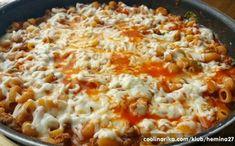 Vynikající oběd za 20 minut z jedné pánve Pasta Recipes, Chicken Recipes, Cooking Recipes, Healthy Recipes, Good Food, Yummy Food, Salty Foods, What To Cook, Main Meals