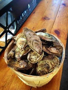 French kiss oysters from New Brunswick, Canada. Brought in special for Valentine's Day!