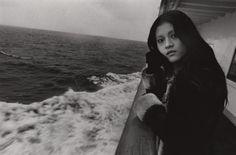 "Shin Yanagisawa: Female, Otaru, Hokkaido from the series ""Hard Winter"", vintage silver print, unique"