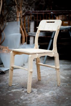 Clip Chair designed by Jose Pacheco for https://opendesk.cc