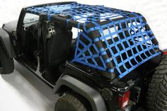 Netting - Jeep Wrangler JK Unlimited 5pc full kit 2007-up Choose Spider or Regular Side