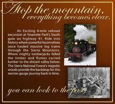Yosemite Mountain   Sugar Pine Railroad   56001 Hwy 41   Fish Camp, CA 93623   (559) 683-7273