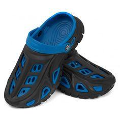 Dwuwarstwowe chłopięce klapki Miami wykonane zostały z bardzo lekkiego, miękkiego i odpornego na ścieranie tworzywa EVA Injection. Posiadają wygodną, dopasowaną do stóp powierzchnię wewnętrzną oraz antypoślizgową podeszwę a pasek na pięcie nie pozwala stopie wyślizgnąć się z buta. Specjalne otwory zapewniają odpowiednią wentylację stopy oraz pozwalają wodzie wypłynąć z buta. Atrakcyjne wzornictwo na pewno przyciągnie wzrok młodego użytkownika.