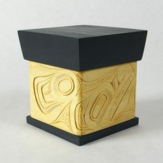 Lattimer Gallery - James Michels - Bentwood Box - Wolf