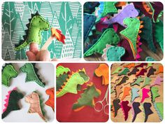 Vicki Brown Designs: Dragon Finger Puppets :: A Tutorial ::