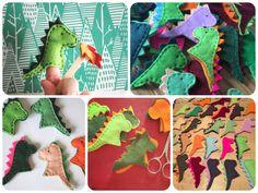Vicki Brown Designs: Dragon Finger Puppets :: A Tutorial ::