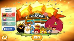 Angry Birds 2 level 47 - King Pig Boss Fight Walkthrough