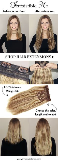 How to properly insertapply clip ins hair beauty that i love feel beautiful at an affordable price with irresistible me 100 human remy clip in weave extensionsremy hair pmusecretfo Choice Image