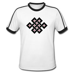 The endless knot is one of the 8 Auspicious Symbols of Buddhism & represents the interweaving of the Spiritual path. Since the knot has no beginning or end it also symbolizes the wisdom of the Buddha.