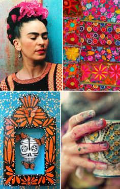 TODAY: Inspired by Frida Kahlo | http://adventures-in-making.com/today-inspired-by-frida-kahlo/ #inspiration #chronicpain #artist
