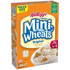 Kellogg's Frosted Mini Wheats Original, 24 Ounce Box *** Don't get left behind, see this great product - Groceries