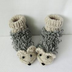 Lucky hedgehog. Knit Socks. For kids 4-7 years old. Baby socks Handmade gift. Boys girls wool socks. Wool Socks. Warm socks. Newborn Socks.