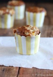 Brown Butter Orange Pumpkin Muffin