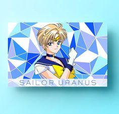 Sailor Uranus Poster Haruka Art Print Sailor Moon by AnimeLovers