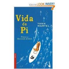 PRODUCTO: hay el libro, Vida de Pi.El libro es sobre un niño y su tigre. Es muy triste.