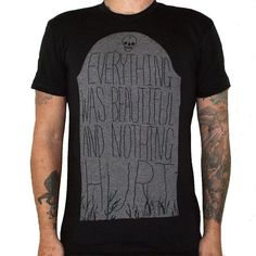 Slaughterhouse Five t-shirt... I kind of want this