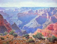 Grand Canyon, by Gunnar Mauritz Widforss. Courtesy of Museum of Northern Arizona.