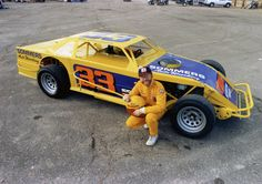 Car 101 - 23rd race car 5-27-91 - IMCA Modified - Stieg Svard built the engine, a small block Chevrolet. Qualified fastest and finished 3rd in the Main in the first race for this car.