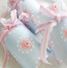 Wrapping chocolate!girly!party!shabby chic!