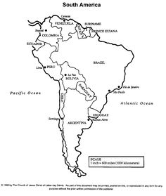picture about Printable Map of Latin America referred to as 10 Simplest Latin the united states map pics inside 2019 Lean, environmentally friendly foodstuff