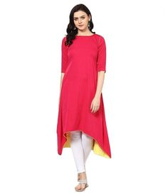 New Designer Gajri Color Long Cotton Kurti_SF-1626 Saiveera Fashion is Popular brand in Women Clothing in Surat. Saiveera Fashion is Produce many kind of Women's Clothes like Anarkali Salwar Suits, Straight Salwar Suits, Patiala Salwar Suits, Palazzos, Sarees, Leggings, Salwars, Kurtis, etc. For any Query Contact/Whatsapp on +91-8469103344.